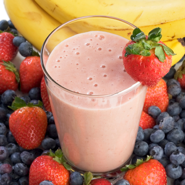 RECIPE – B – Banana and Berries Protein Smoothie