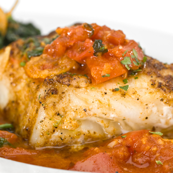 RECIPE – D – Fish Poached in Tomato Sauce