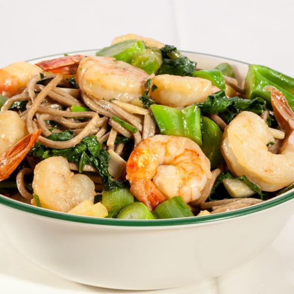 RECIPE – D – Prawn Soba Noodle Salad