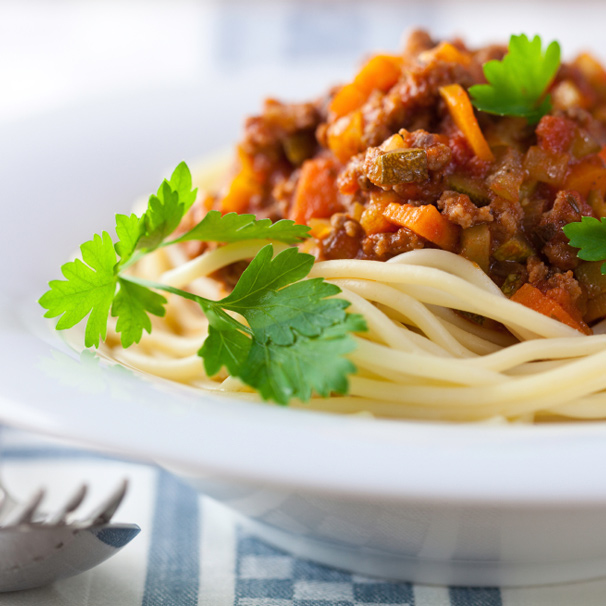 RECIPE – D – Spaghetti Bolognaise