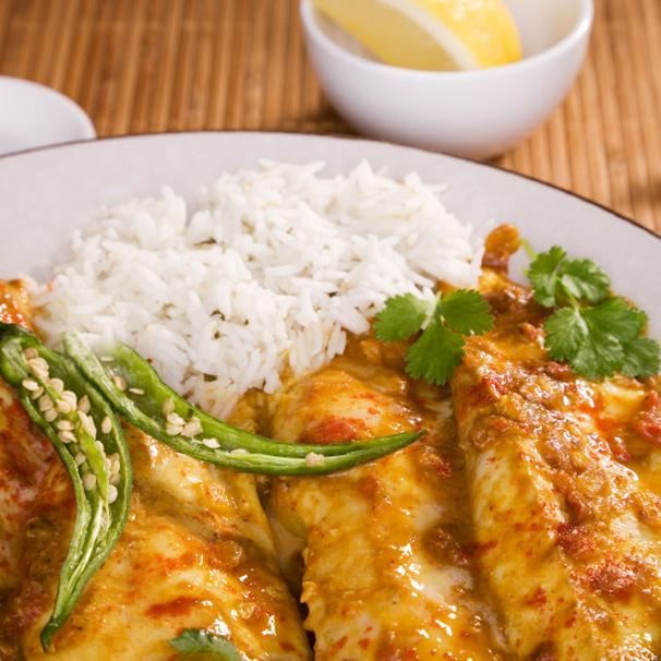 RECIPE – D – Tandoori Fish with Mango Salsa