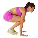 Burpees - Position 1