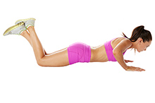 Modified Pushups - Position 1