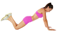 Modified Pushups - Position 2