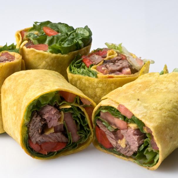 RECIPE – L – Roast Beef Wrap