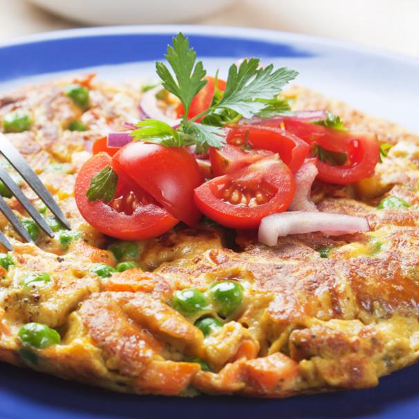 RECIPE – L – Salmon and Ricotta Frittata